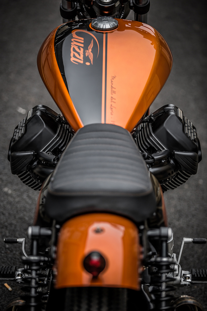 custom Moto Guzzi V9