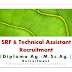 SRF & Technical Asst. Recruitment- Diploma Agriculture | M.Sc.Ag. Entomology