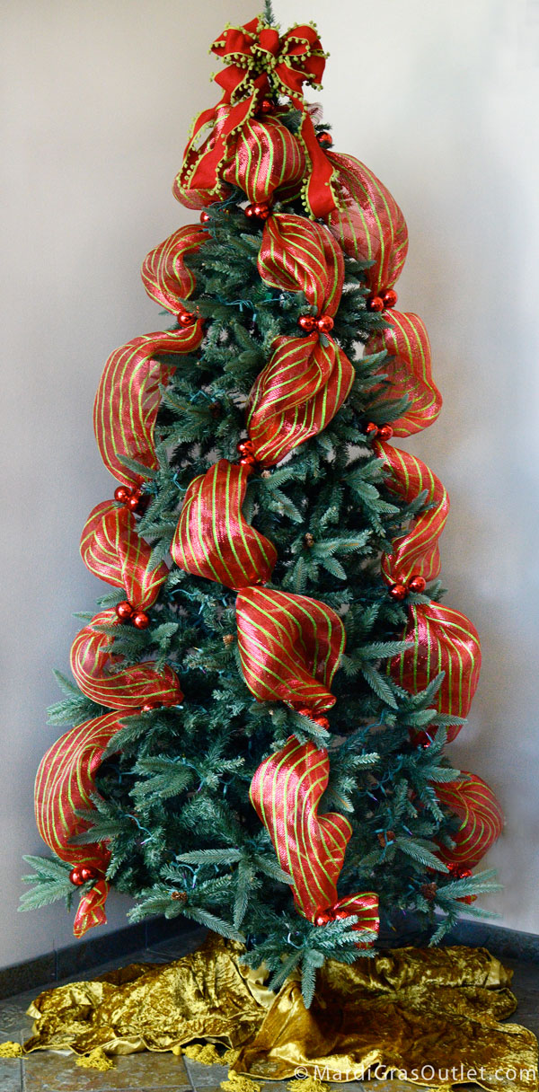 Party Ideas By Mardi Gras Outlet Quick Christmas Tree