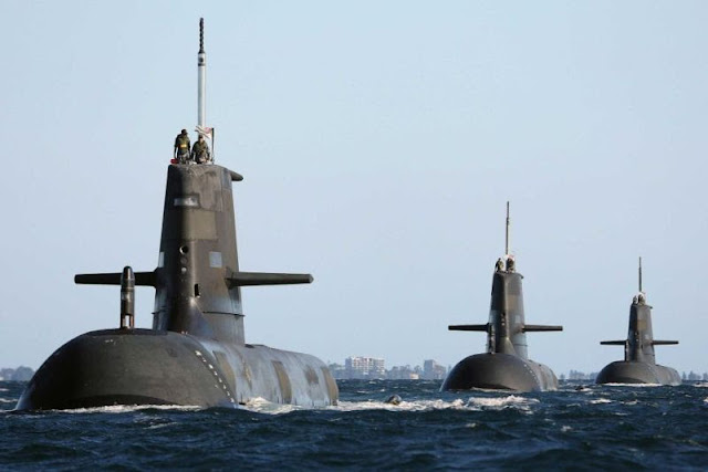 Submarinos clase Collins de la Royal Australian Navy