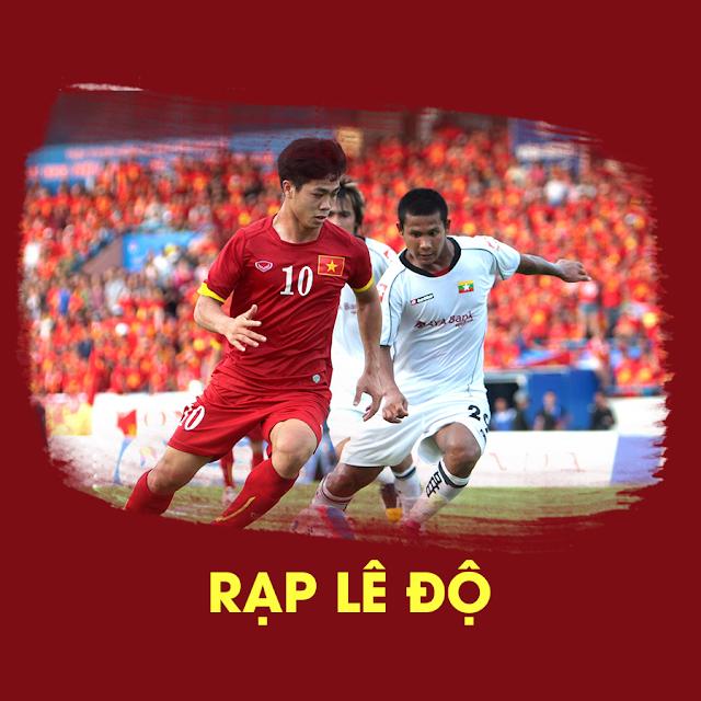 Rạp Lê Độ trực tiếp chung kết AFC 2018 qua màn hình 300 inch