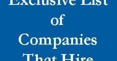 Jobs for Felons: How felons can get jobs: Jobs for Felons