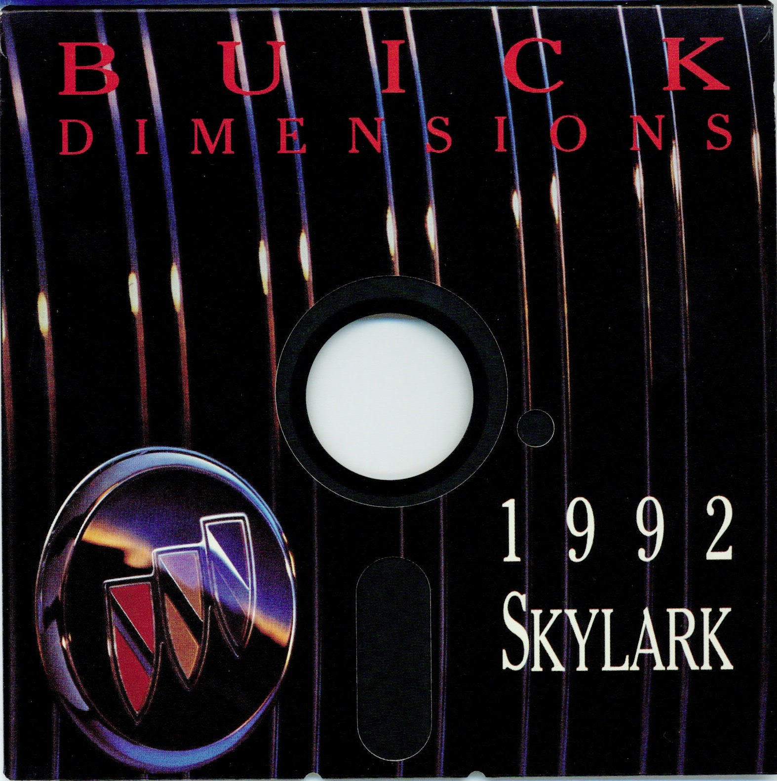 Nerdly Pleasures: Weird Software : The Buick Dimensions 1992