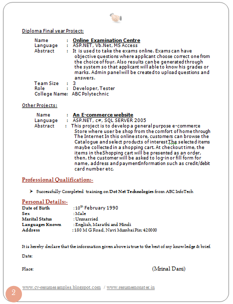 1 Year Experience Resume Format Free Download Rsum Wikipedia Over 10000 Cv And Resume Samples With Free Download