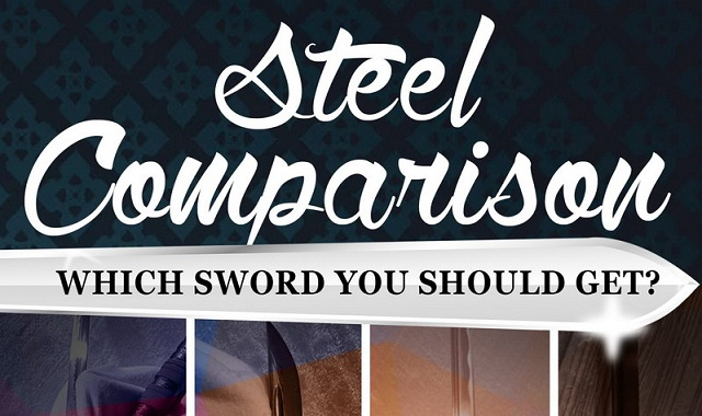 Samurai Swords - Steel Comparison