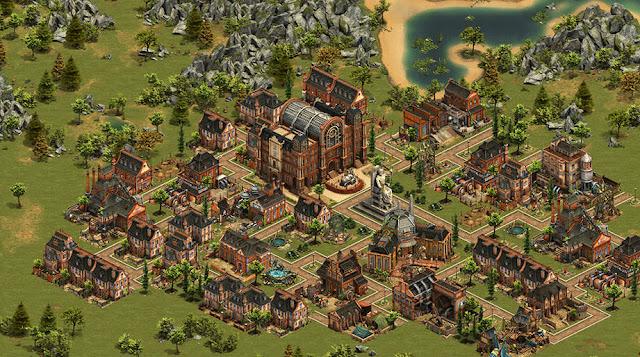Bildschirmfoto von Forge of Empires; c) InnoGames