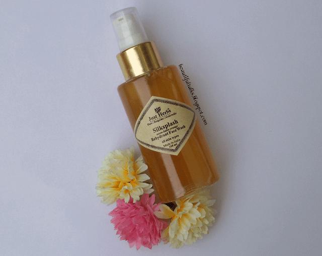 Just Herbs Silksplash Neem-Bitter Orange Rehydrant Face Wash