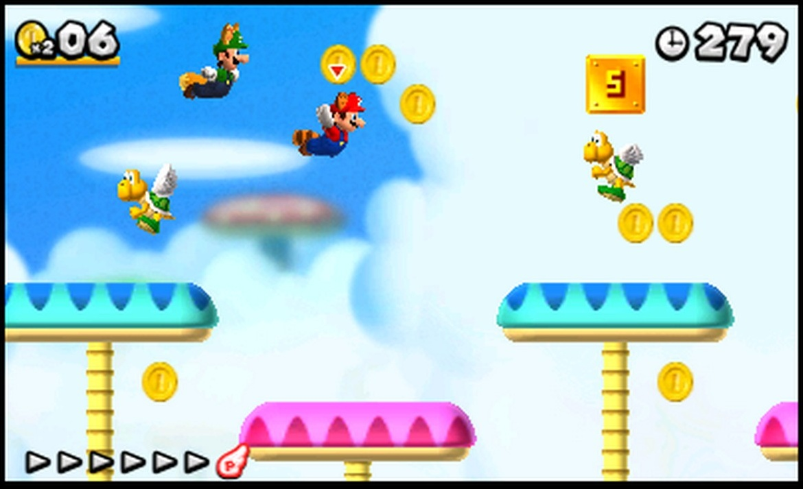 SuperPhillip Central: New Super Mario Bros  2 (3DS) Guest Review