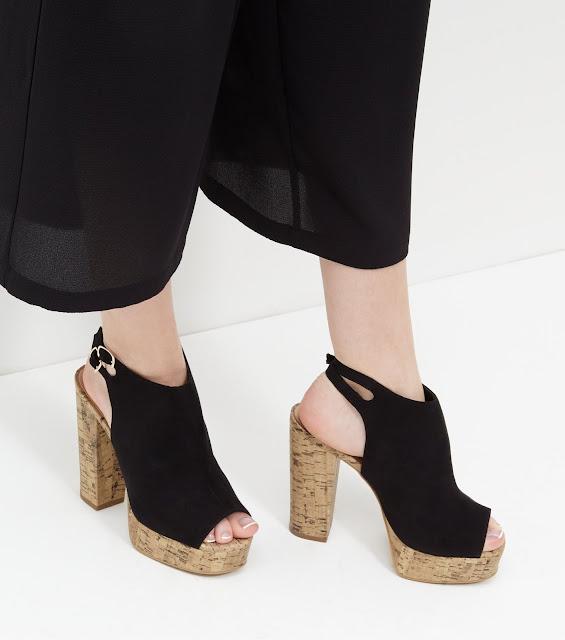 zapatos de plataforma con correa