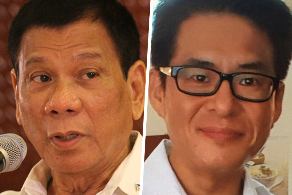 Duterte apologizes killing of Jee Ick-joo