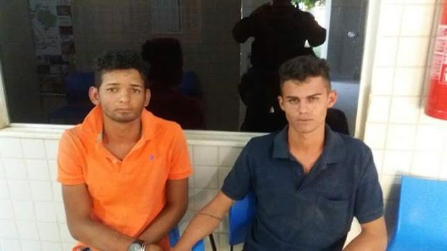 Parauapebas/PA: Dois elementos foram presos pela PM acusados de praticarem assaltos em ônibus na região da transamazônica