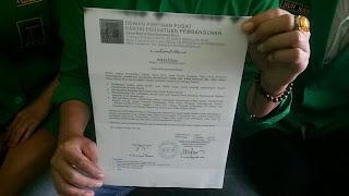 PPP Berikan Surat Tugas Kepada Pudji Dewanto
