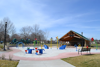 Andrews Park Champlin Splash Pad