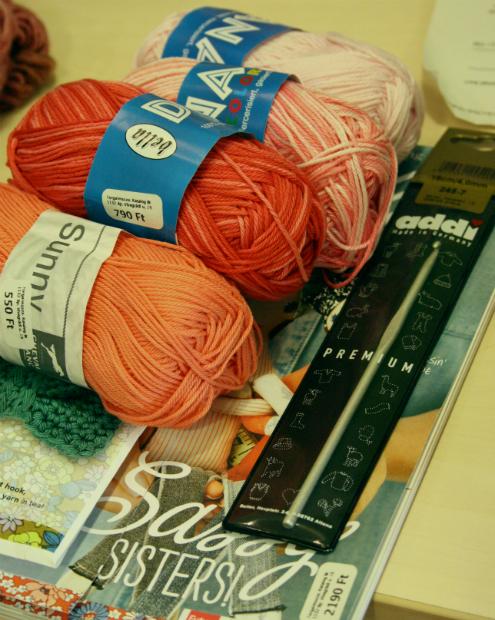 Yarn shop Budapest