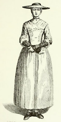 A Magdalen in 1766 from The Magdalen   Hospital by HFB Compston (1917)