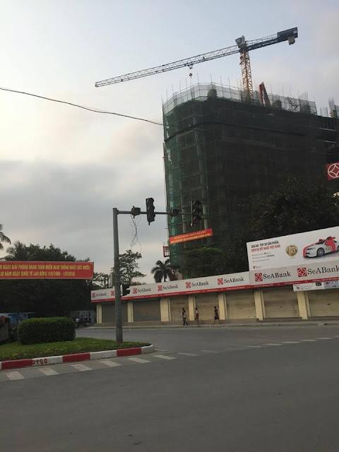 Dự án tháp doanh nhân hà đông