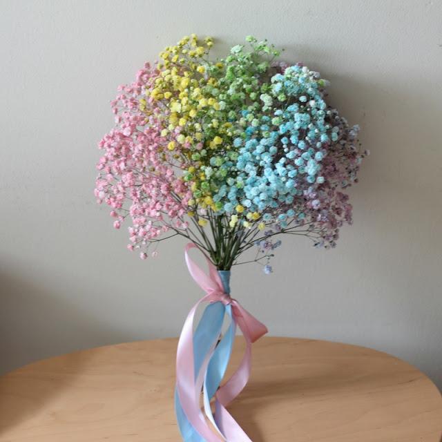 hoa bi nhiều màu