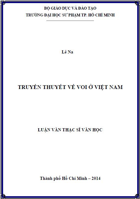 Truyền thuyết về Voi ở Việt Nam