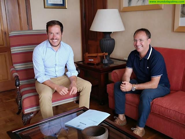 Mariano Hernández y Sergio Rodríguez se reúnen para tratar temas estratégicos para El Paso