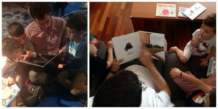 lectura compartida para fomentar la lectura en los niños
