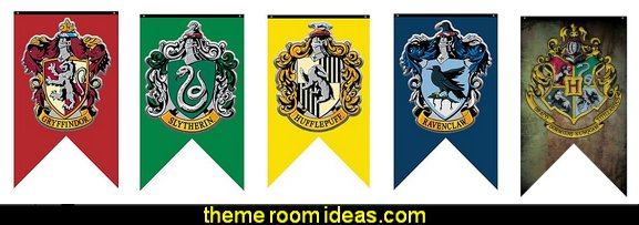 Harry Potter house wall Banners  Harry Potter Party - Harry Potter decorating props - Harry Potter party supplies - harry potter party decorations - Harry Potter theme party  - Hogwarts themed party decorations -  Harry Potter party props - harry potter party decoration ideas - Harry Potter cake decorations - harry potter party supplies - castle decorating props - Magical Hogwarts House Theme - Harry Potter costume