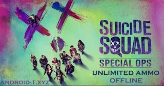 Suicide Squad: Special Ops v1.1.3 Mod Apk+Data (Unlimited Healt)