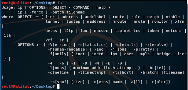 ip linux command