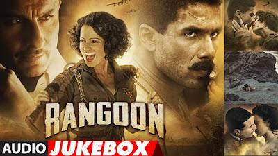 Alvida Lyrics | Rangoon (2017) | Arijit Singh