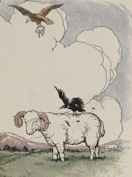 Dongeng Burung Elang dan Burung Gagak (Aesop) | DONGENG ANAK DUNIA
