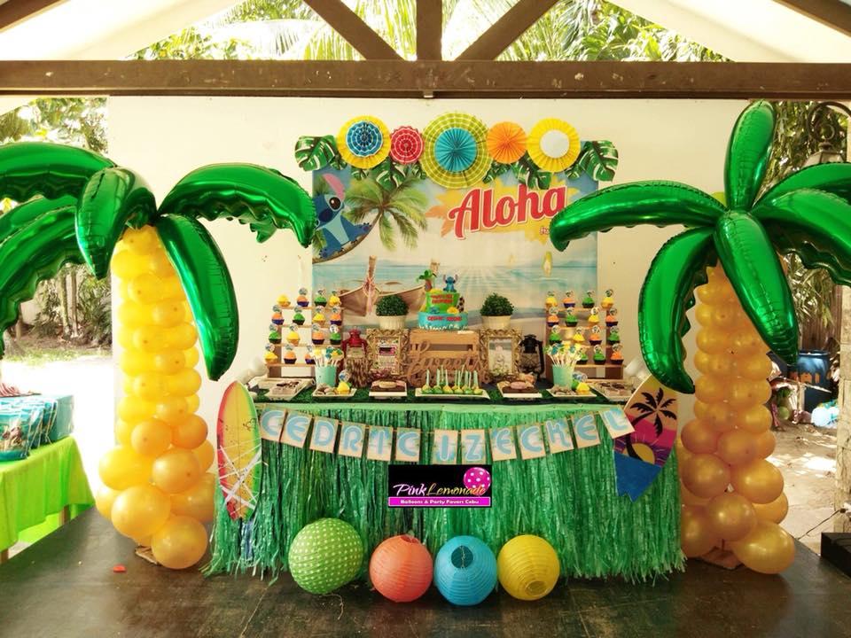 Pink Lemonade Balloons And Party Favors Cebu Lilo And