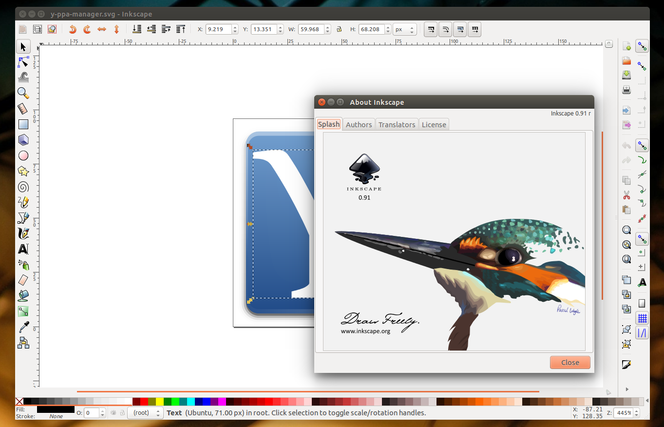 Inkscape 0 91 Released With New Renderer, Over 700 Bug Fixes