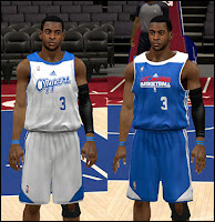 NBA 2K13 Los Angeles Clippers Practice Jersey Patch