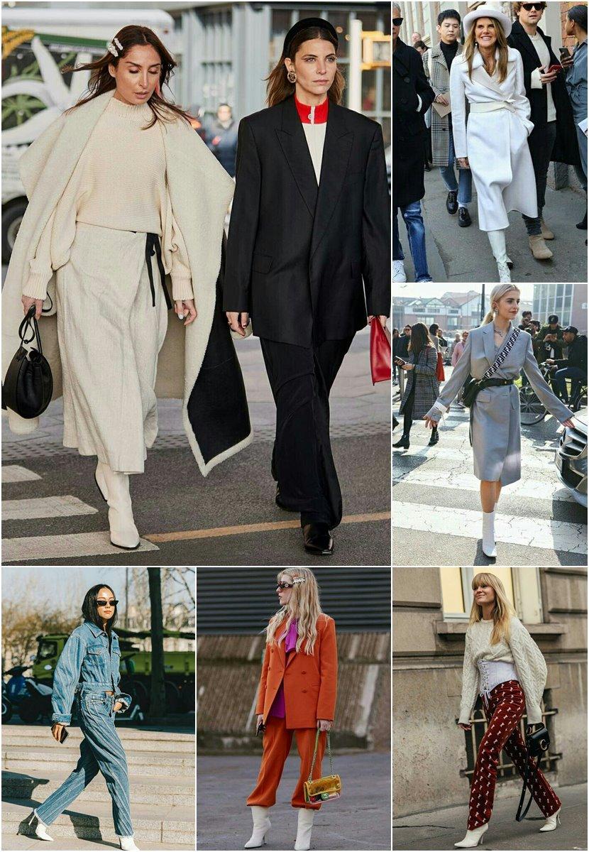 Looks inspiradores com botas brancas