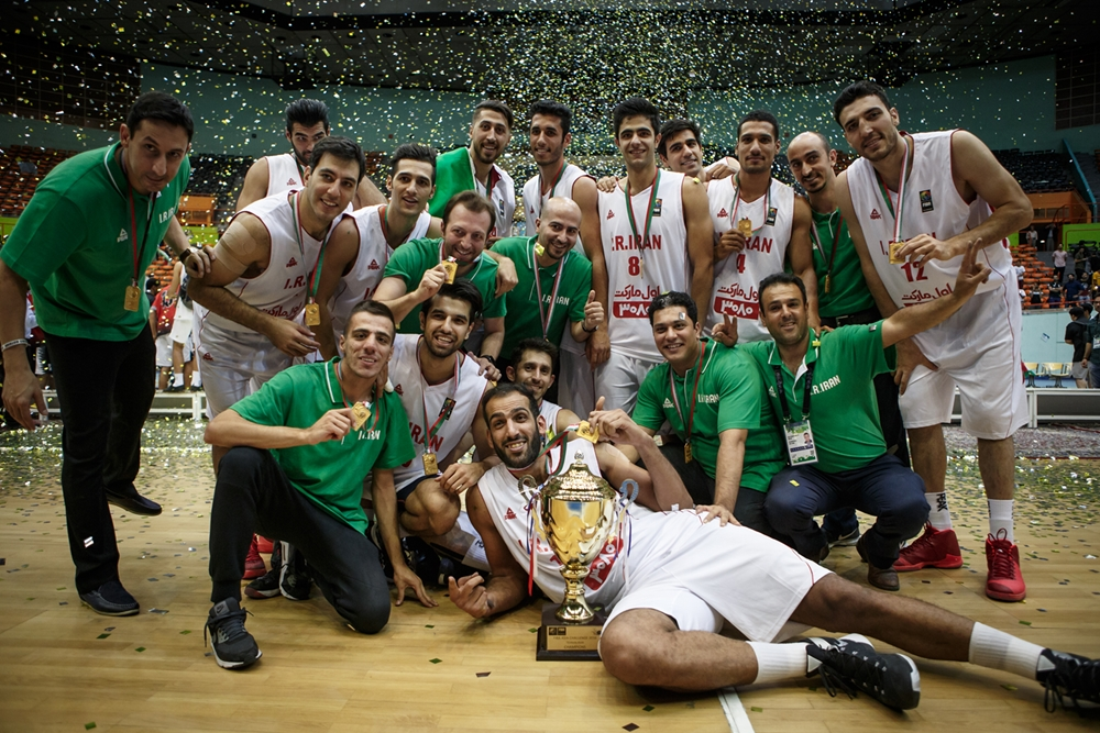 d7d310896972 2016 FIBA Asia Challenge  Iran win for 3rd straight time  India have best  performance in 27 years!
