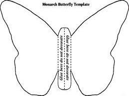 butterfly paper cut out template - cpl children 39 s blog caterpillar butterfly craft