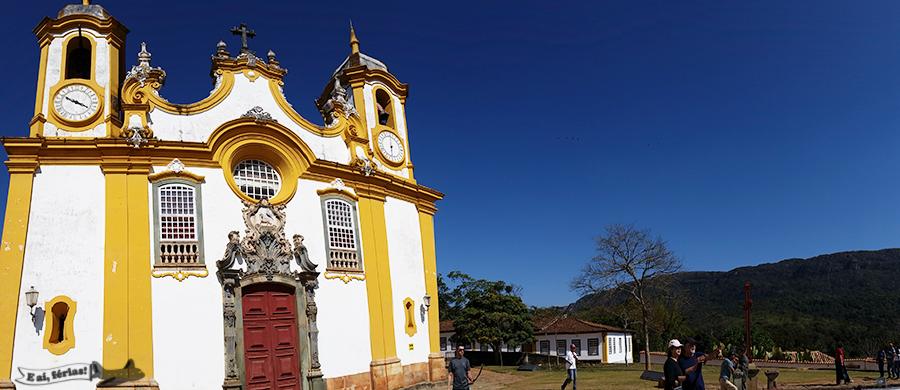 Igreja Matriz de Santo Antonio, em Tiradentes, Caminho Velho, Minas Gerais
