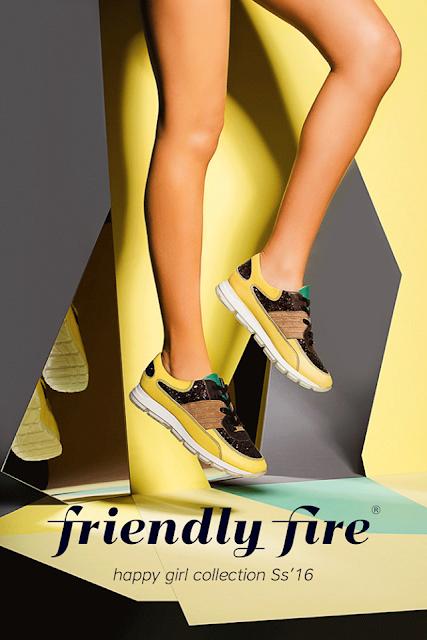 Sapatos - sandálias tênis Friendly Fire colecção primavera-verão 2016
