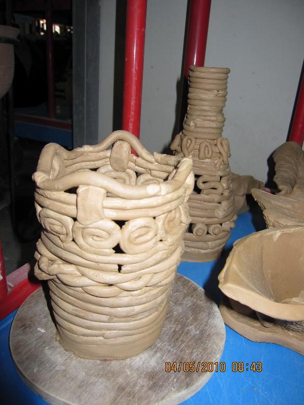 Teknik Tanah Liat : teknik, tanah, Richo-docs:, Tutorial, Membuat, Kriya, Keramik, Dengan, Tehnik, Pilin