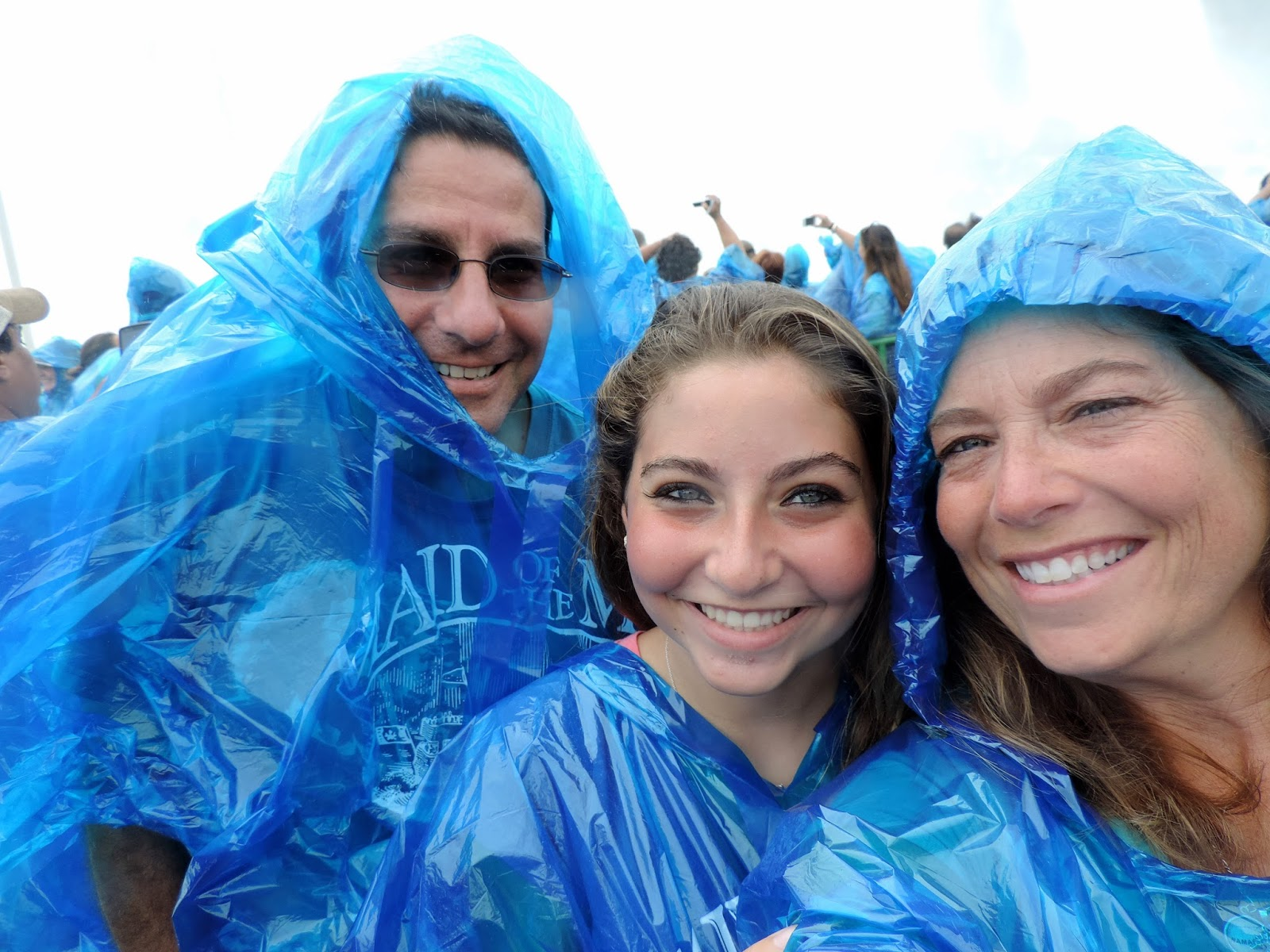 FAMILY OF THREE TAKE TO THE SEA: October 2015