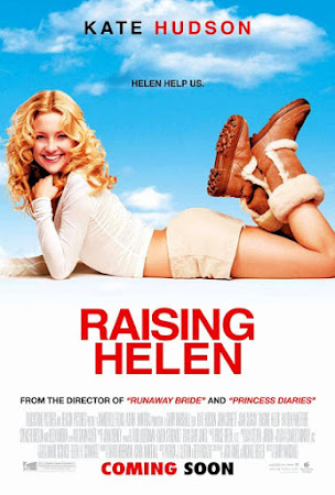 Poster Of Raising Helen In Dual Audio Hindi English 300MB Compressed Small Size Pc Movie Free Download Only At worldfree4u.com