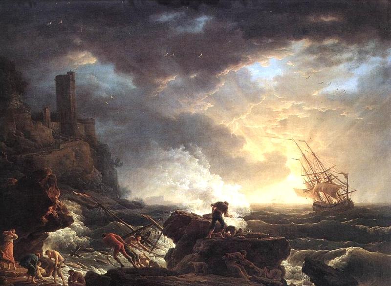 Naufragi (Claude Joseph Vernet)