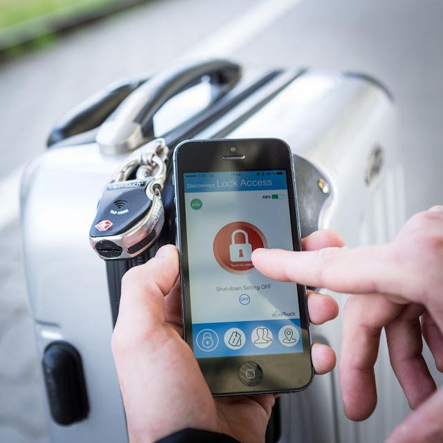 Lucchetto Smart Bluetooth per Bagagli!  idee regalo anniversario