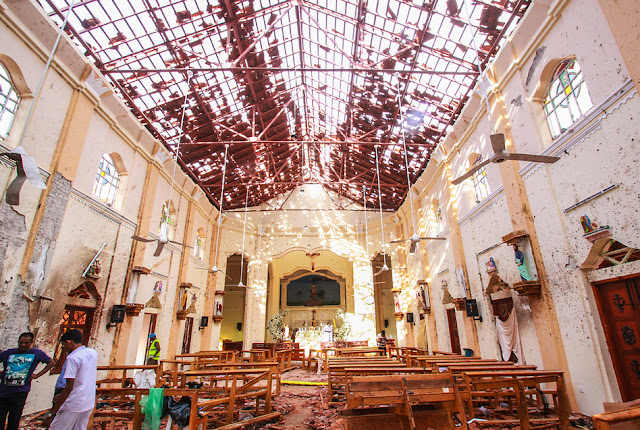 Weeks Ago Sri Lanka was warned about Terrorist Plot- rictasblog