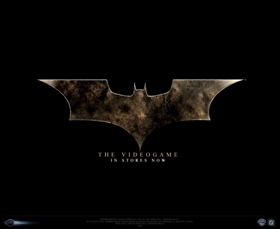 Logo Batman Begins Bats Wallpaper Wallpapers Warrior