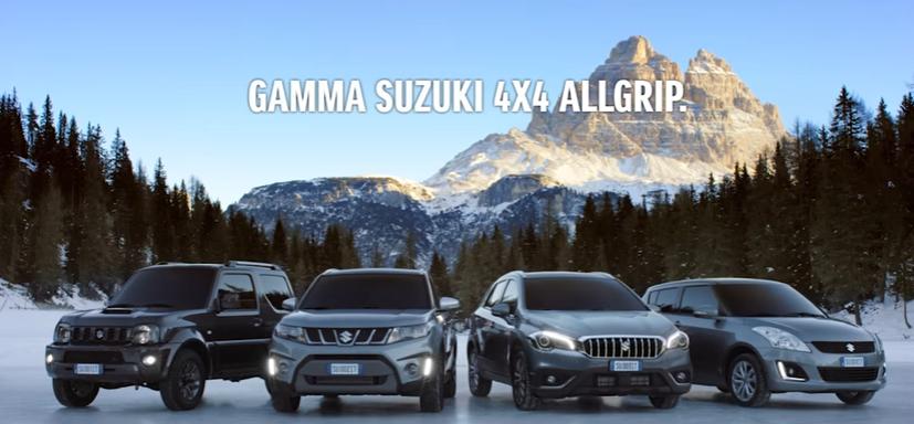 Canzone Gamma Suzuki pubblicità  4x4 Allgrip - Musica spot Novembre 2016