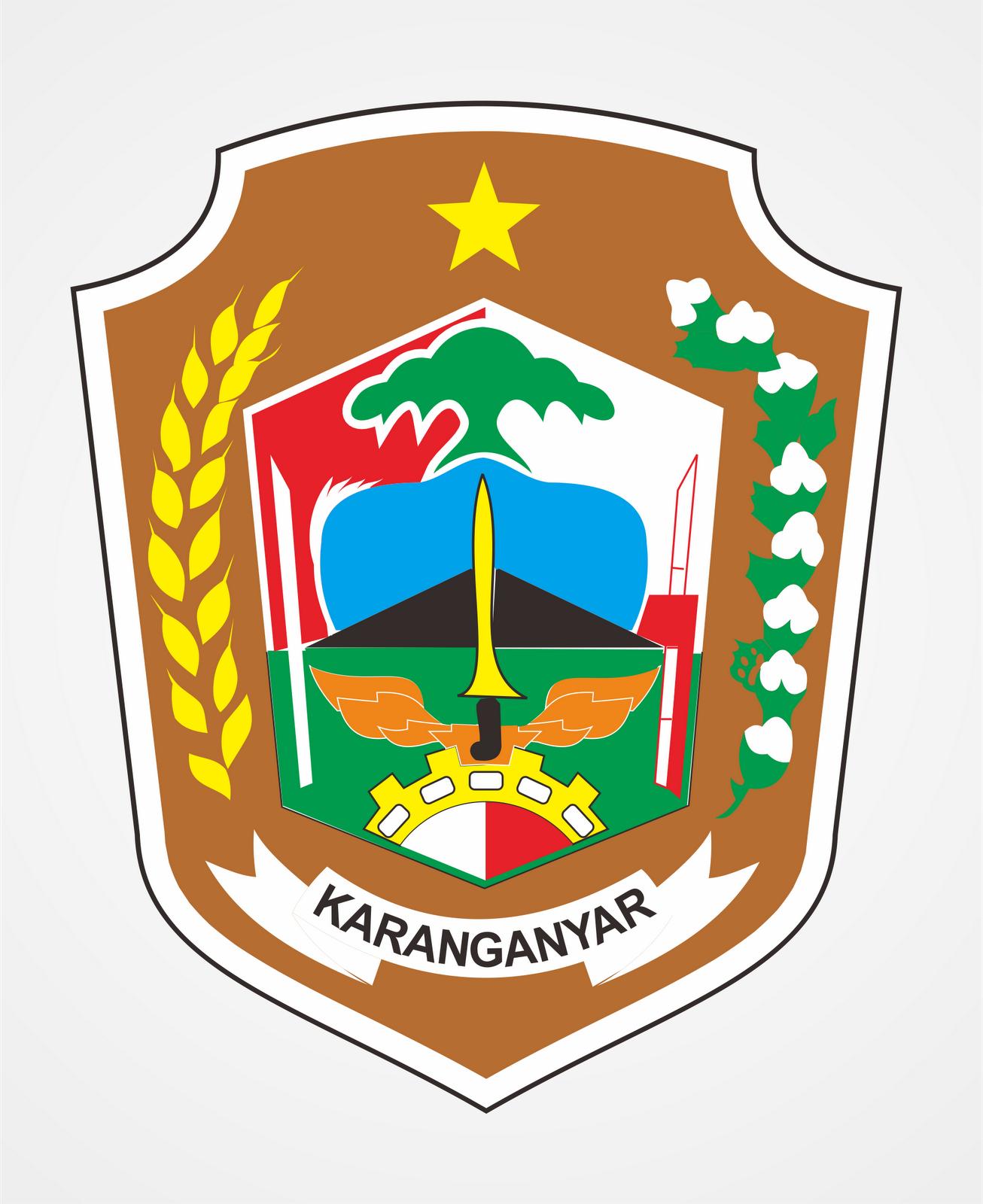 Logo Kabupaten Karanganyar Kumpulan Logo Lambang Indonesia
