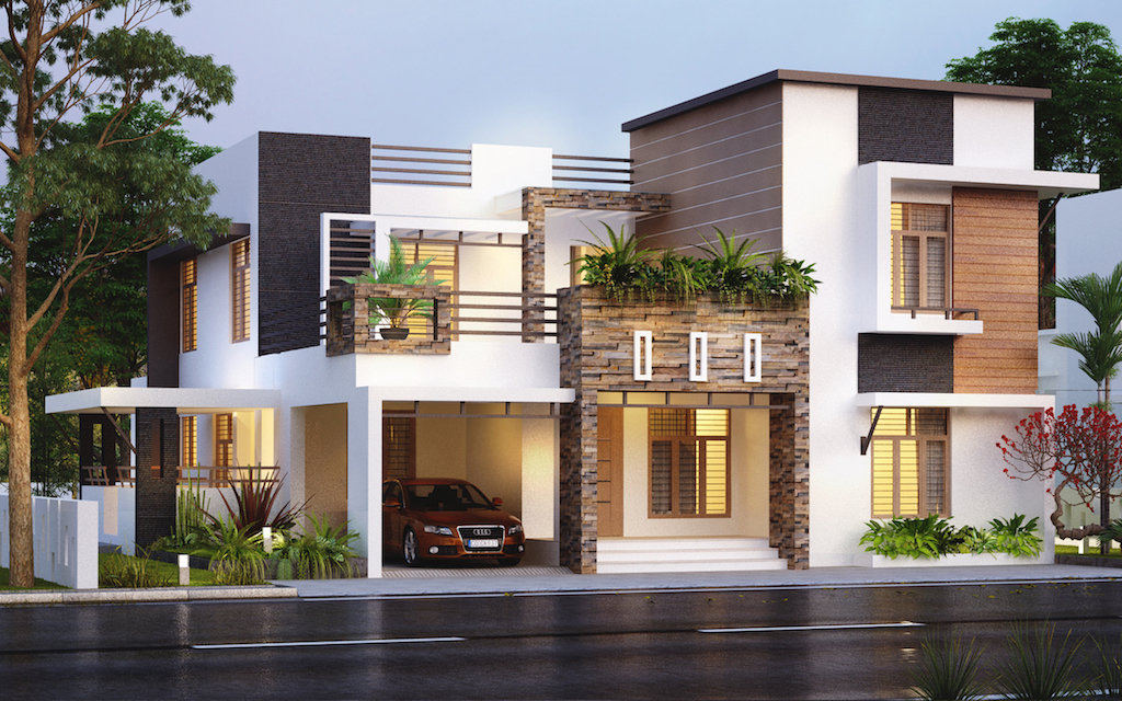 35 Lakh 4BHK Cochin villa from FORMS4 team