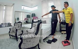Zaquan Kerugian RM200,000 Rumah Dirompak