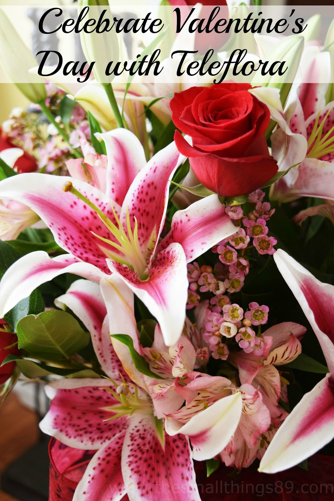 Celebrate Valentine's Day with Teleflora & Love Notes ...