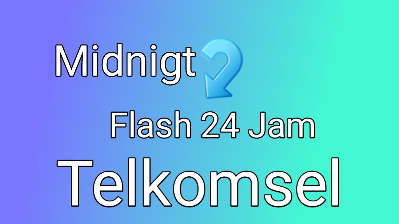 Cara Ubah Kuota Malam Telkomsel Jadi Kuota Flash 24 Jam